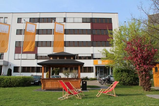 Unser Campus der EUFH Business School in Neuss.