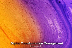 Master of Science Digital Transformation Management an der XU Exponential University.