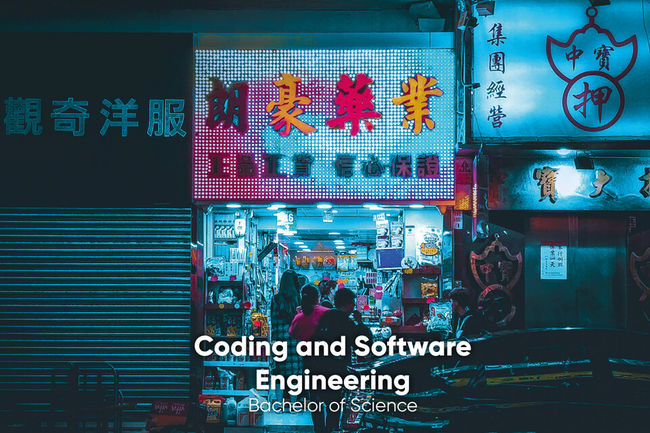 Bachelor of Science Coding and Software Engineering an der XU Exponential University.
