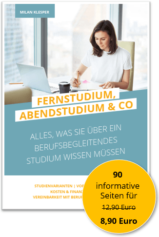 "Das Cover des E-Books ""Fernstudium, Abendstudium & Co."""
